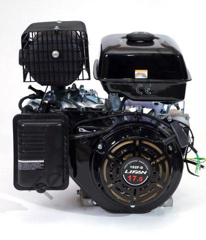 Двигатель Lifan 192FD D25 (17 л. с.) с катушкой освещения 3Ампер (36Вт)
