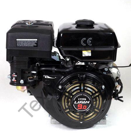 Двигатель Lifan 177FD D25 (9 л. с.) с катушкой освещения 7Ампер (84Вт)